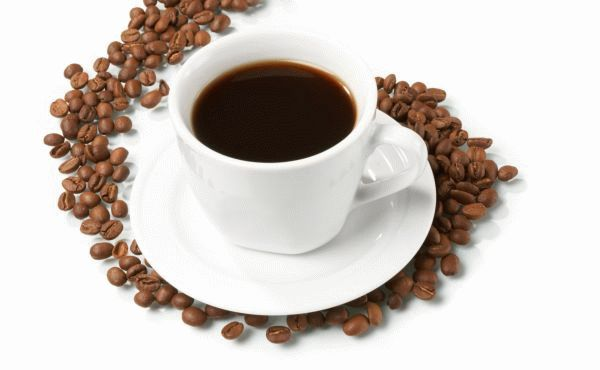 Чашка кофе с утра