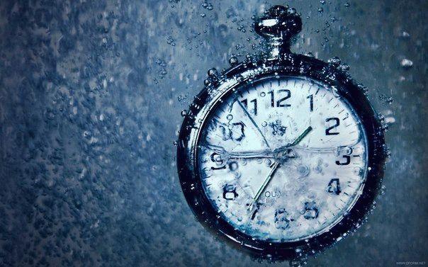 Время как вода убегает сквозь пальцы