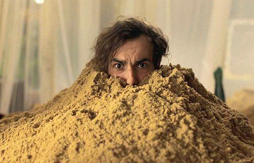 Завяз в песках