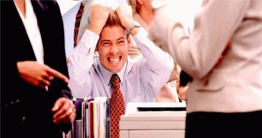 Стресс во время интервью