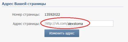 Шаг 2: Вводим желаемое имя пользователя ВКонтакте